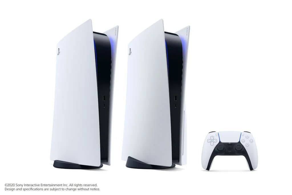 Sony PlayStation 5 White Color