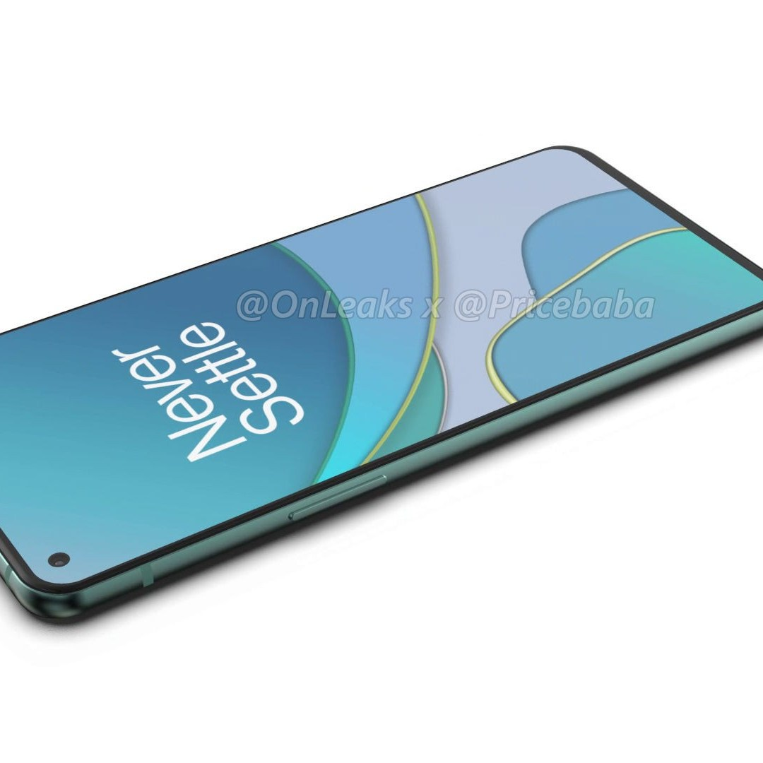 OnePlus 8T 360 degree Rendering