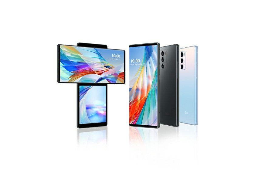 LG Wing Phone secondary display uses