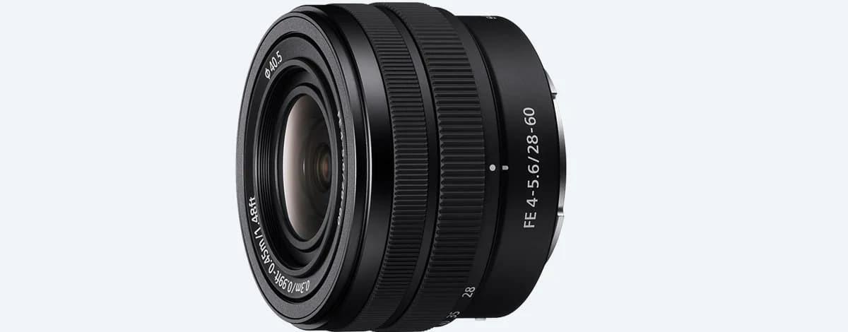 Sony FE 28–60 mm F4–5.6