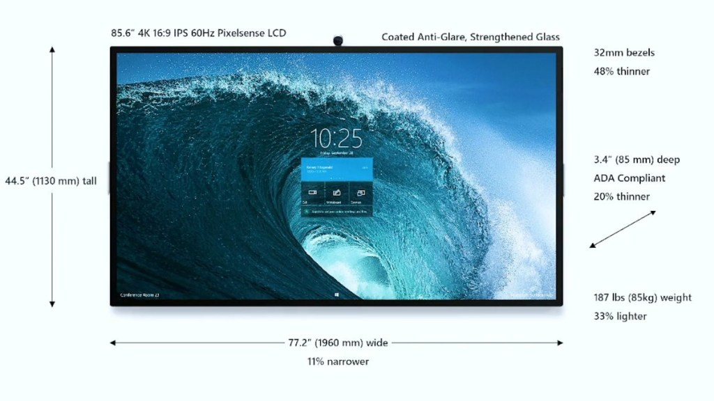 85-inch Microsoft Surface Hub