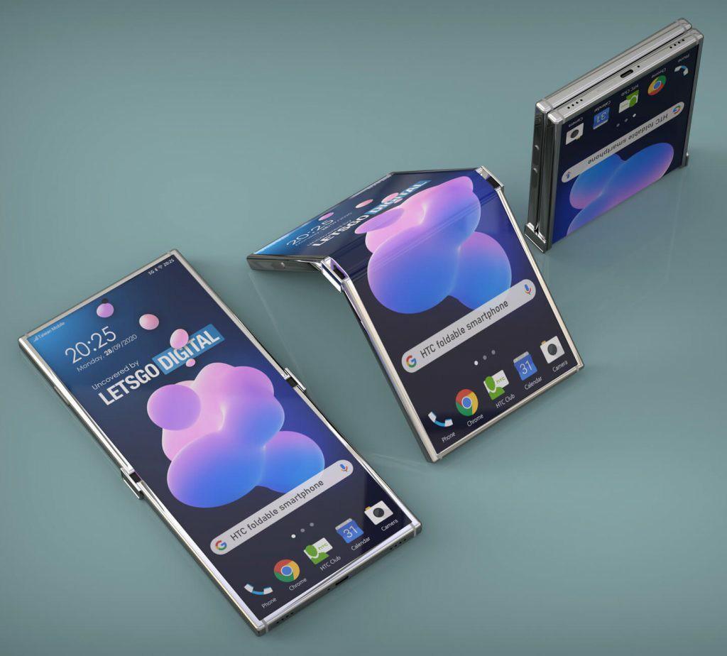 HTC Foldable Phone Patent