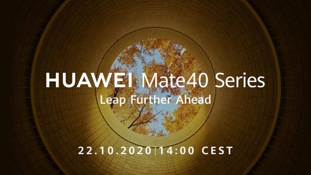 Huawei Mate 40 Release Date