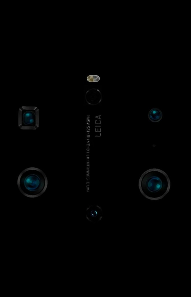 Huawei Mate 40 Pro+ Camera Set-up Rendering