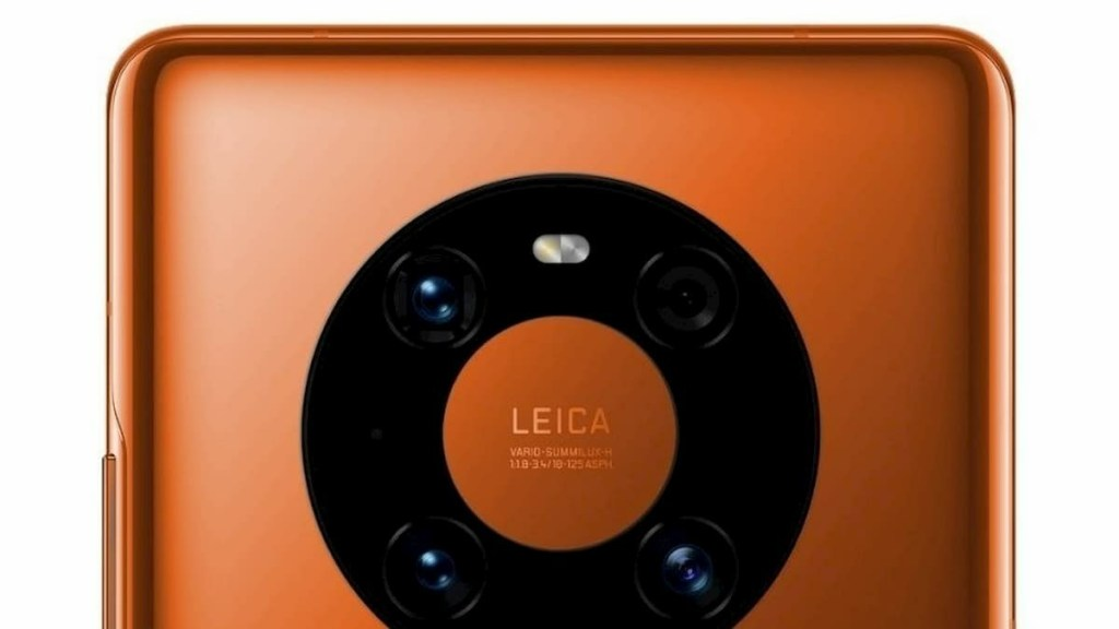 Huawei Mate 40 Pro Orange Color