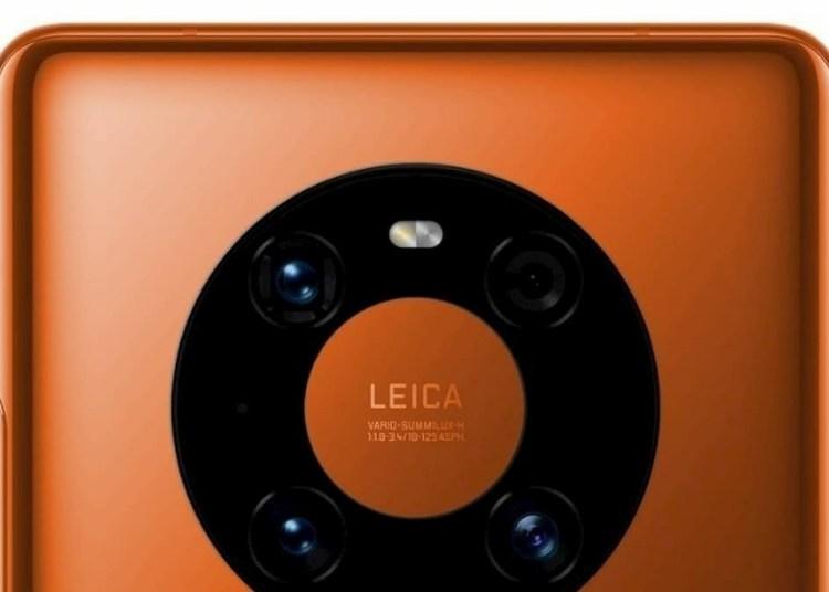 Huawei Mate 40 Pro Orange Color