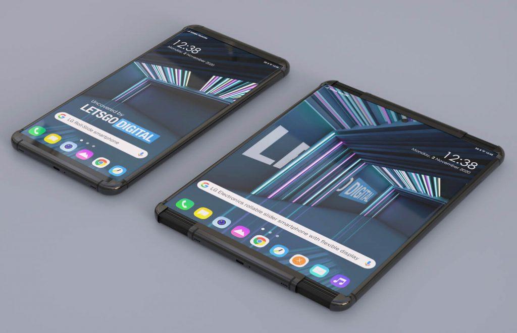 LG Roll-slide Mobile Patent