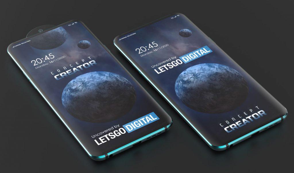 Oppo 15x Hybrid Zoom and Swivel Lens Patent