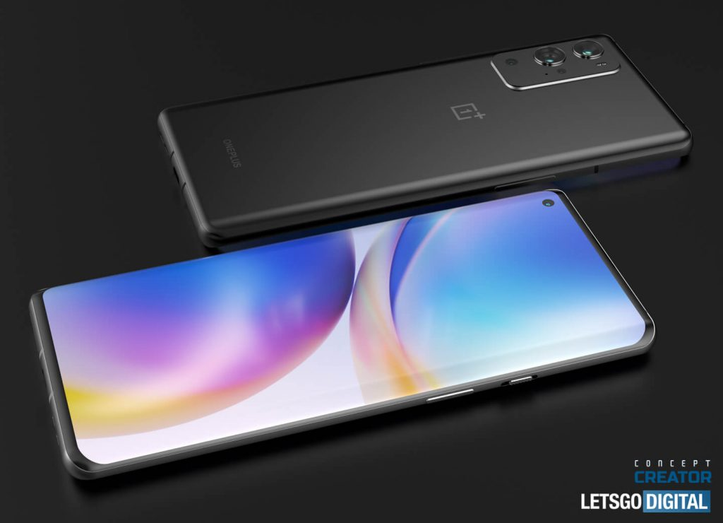 OnePlus 888 a.k.a. OnePlus 9 Pro Rendering