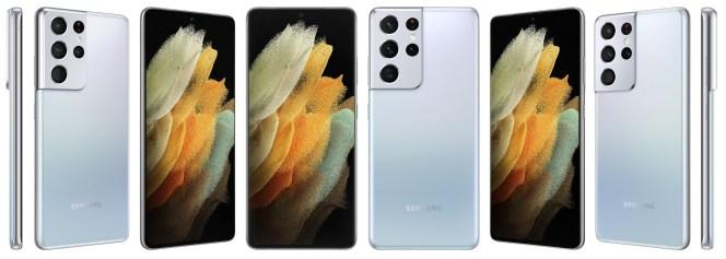 Samsung Galaxy S21 Ultra Phantom Silver