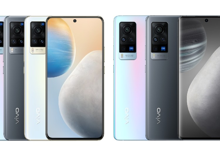 Vivo X60 and X60 Pro Official Rendering of All Colors: Debut OriginOS
