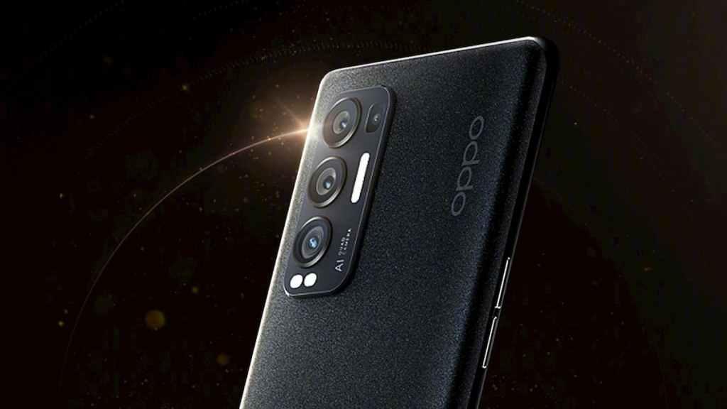 Oppo Reno5 Pro+ Black Color
