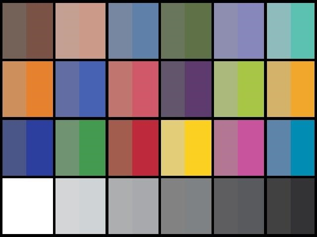 The third is the color correction matrix (CCM).