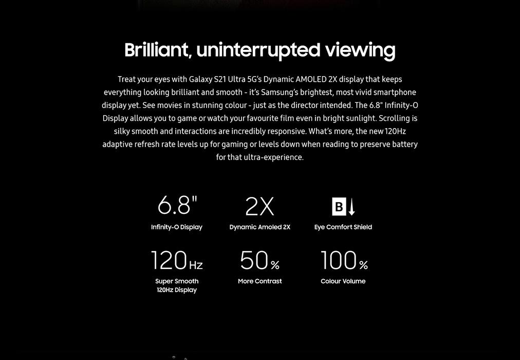 Samsung Galaxy S21 Ultra full specifications