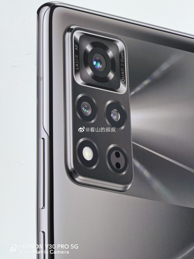 Honor V40 Rear Camera Close-Up