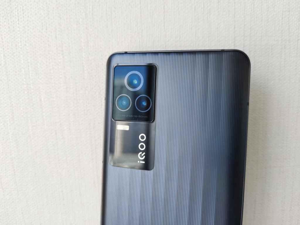 iQOO 7 rear