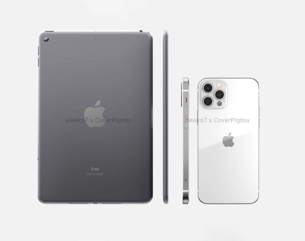 Apple iPad Mini 6 Rendering