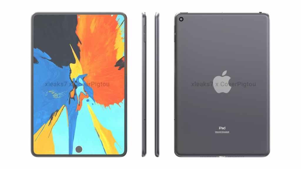 Apple iPad Mini 6 Rendering