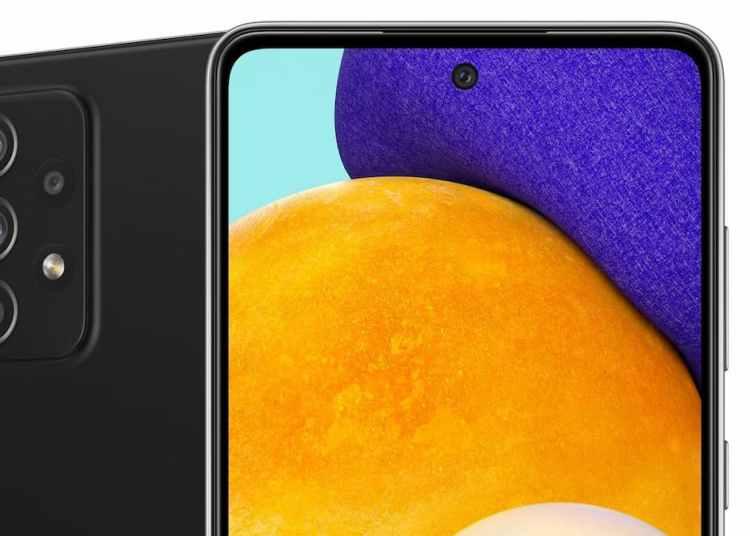 Samsung Galaxy A52 5G 360-Degree Rendering