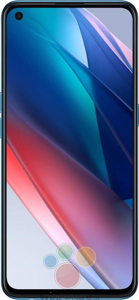 Oppo Find X3 Lite Blue