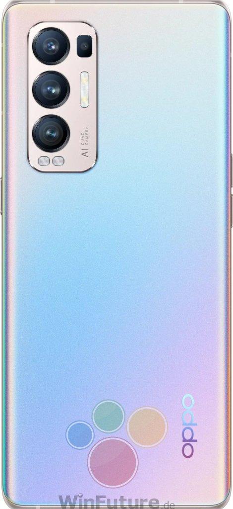 Oppo Find X3 Neo Silver