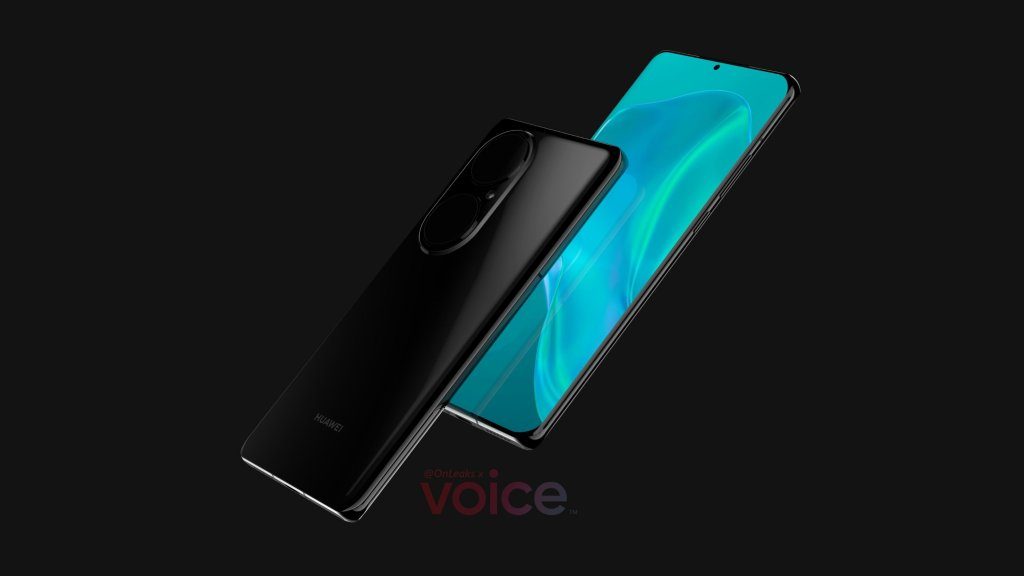 Huawei P50 Pro Renderings