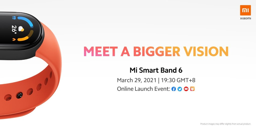 Mi Smart Band 6 Features Larger Full-screen Display
