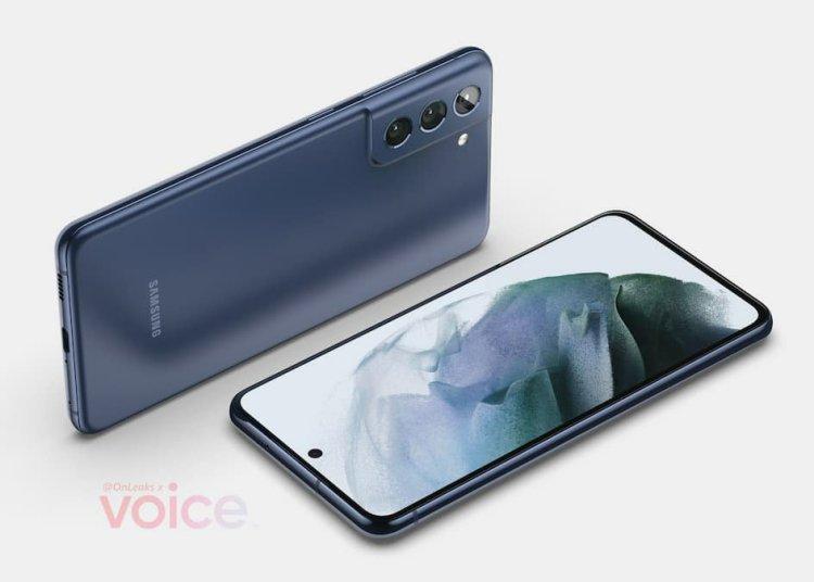 Samsung Galaxy S21 FE Renderings