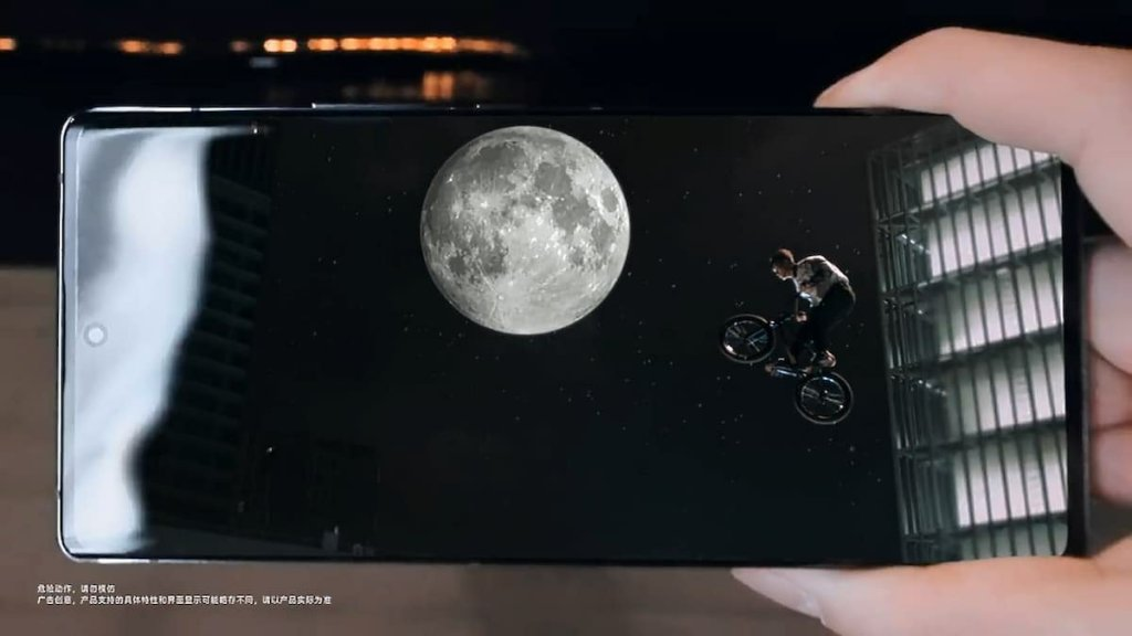 ZTE Axon30 Ultra Front Appearance, ZTE Axon30 Ultra Super Moon Ultra