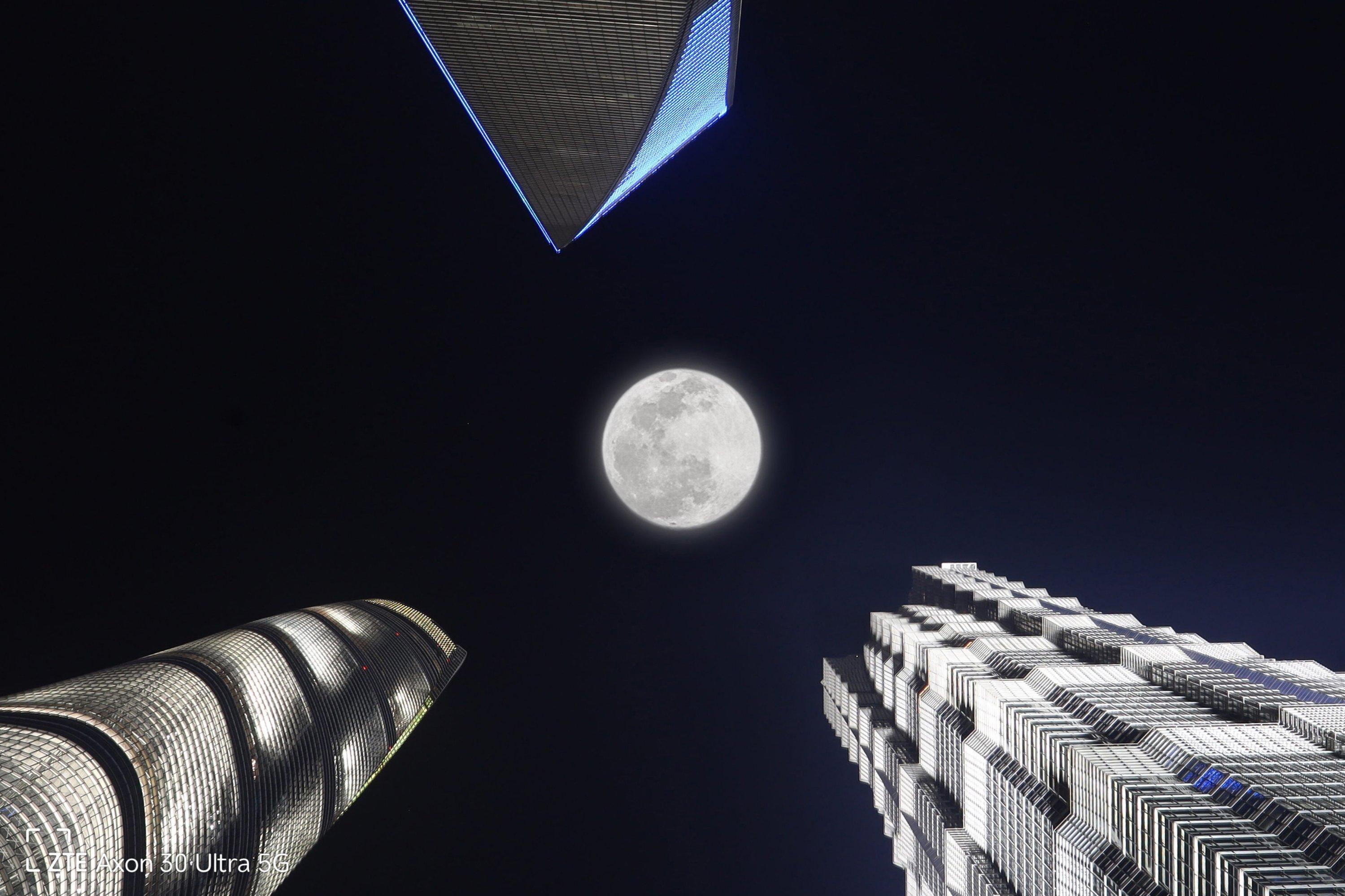 ZTE Axon30 Ultra Super Moon Ultra Shots