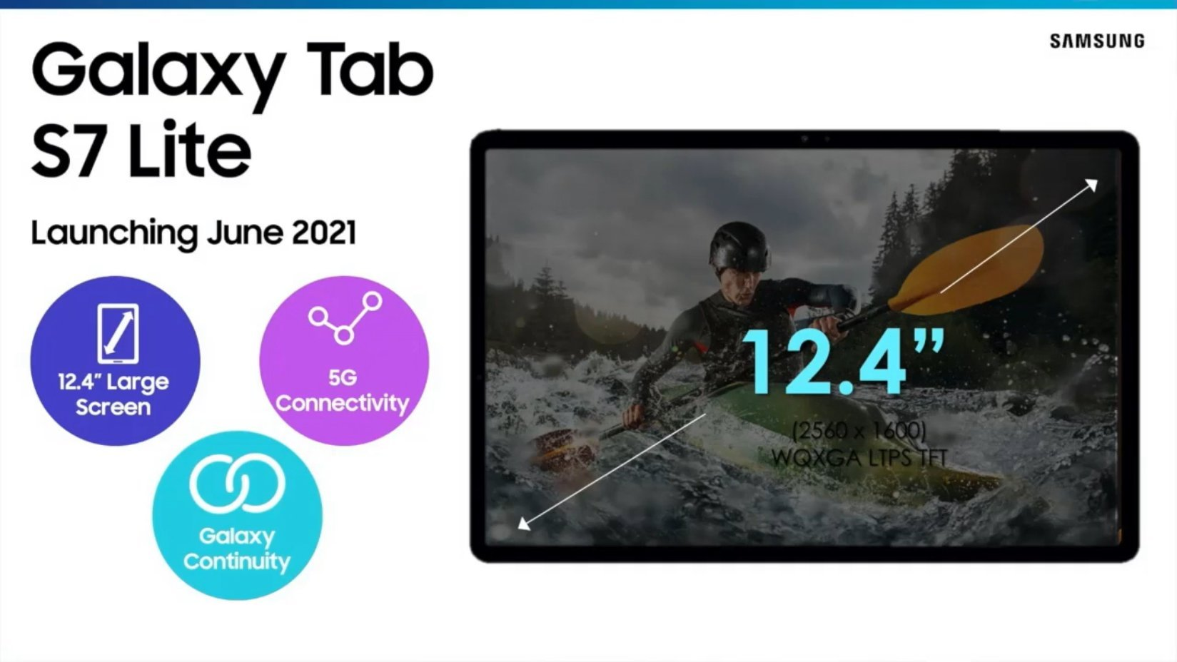 Samsung Galaxy Tab S7 Lite 5G Rendering Exposed Online