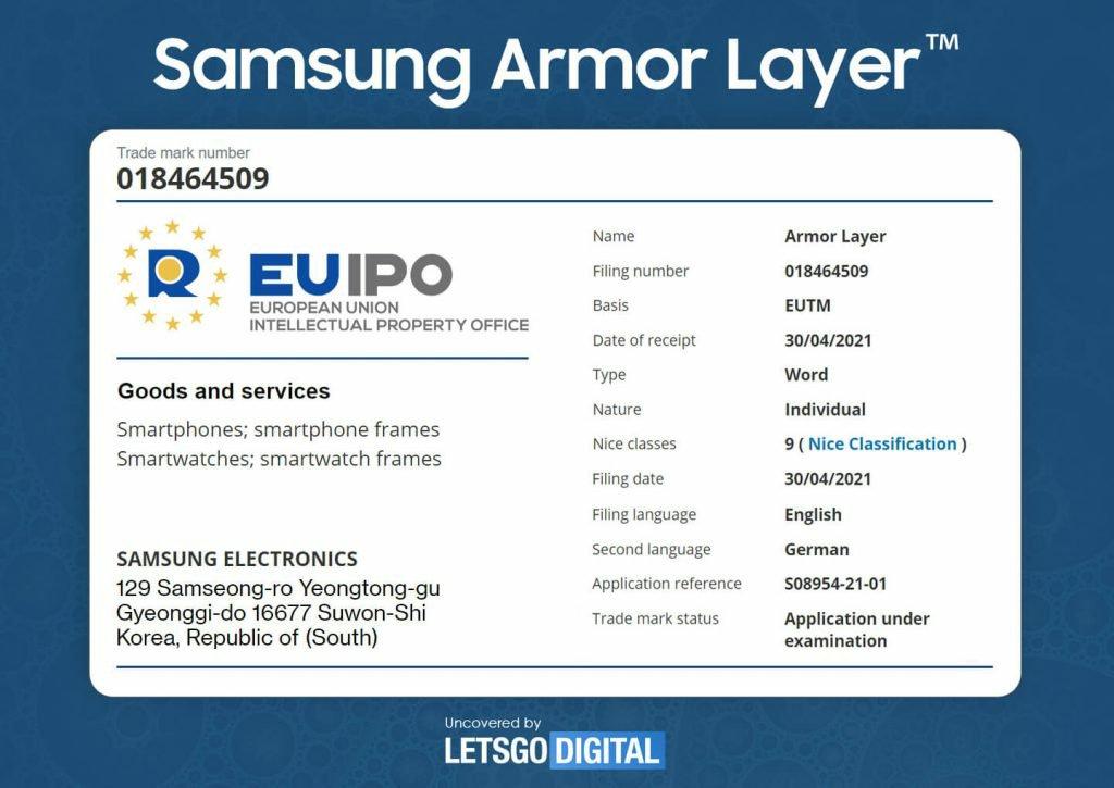 Samsung Obtain Several Trademarks for Galaxy Fold 3