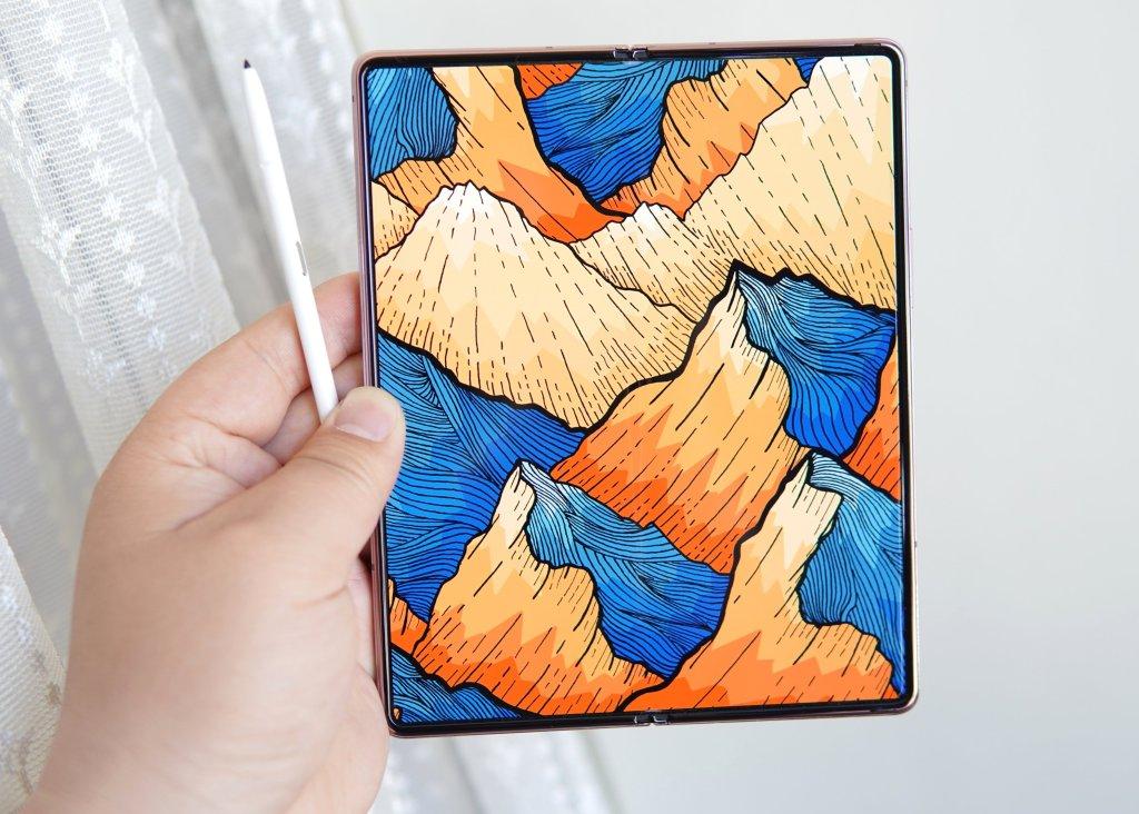 Samsung Galaxy Z Fold3 Live Photo