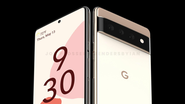 Google Pixel 6 and Google Pixel 6 Pro Renders