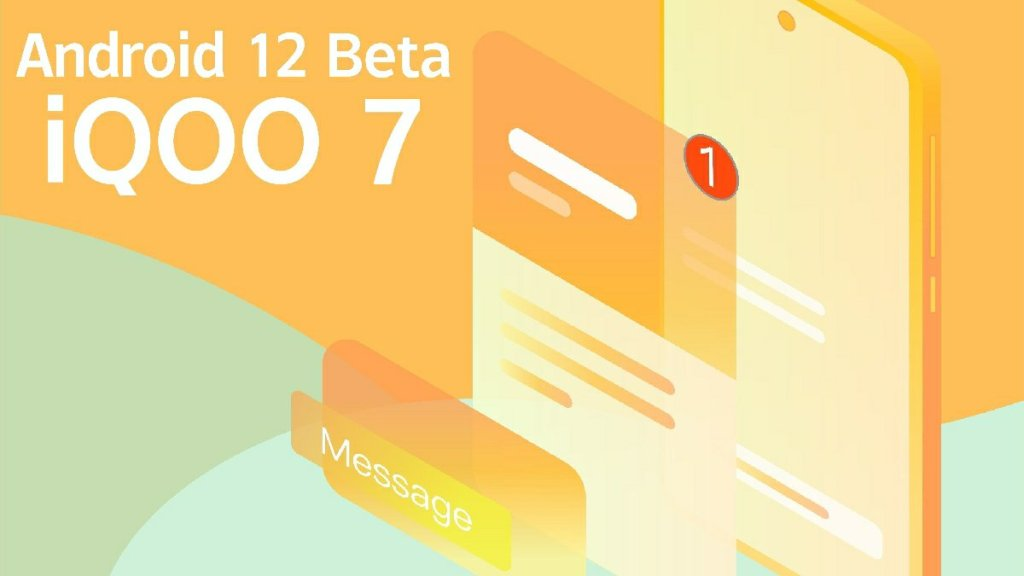 iQOO 7 Android 12 Beta Tasting Recruitment Officially Started