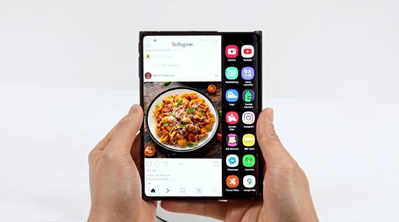 Samsung Slidable display