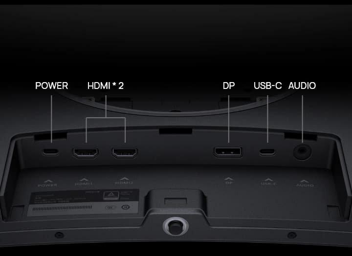 Huawei MateView GT Monitor ports