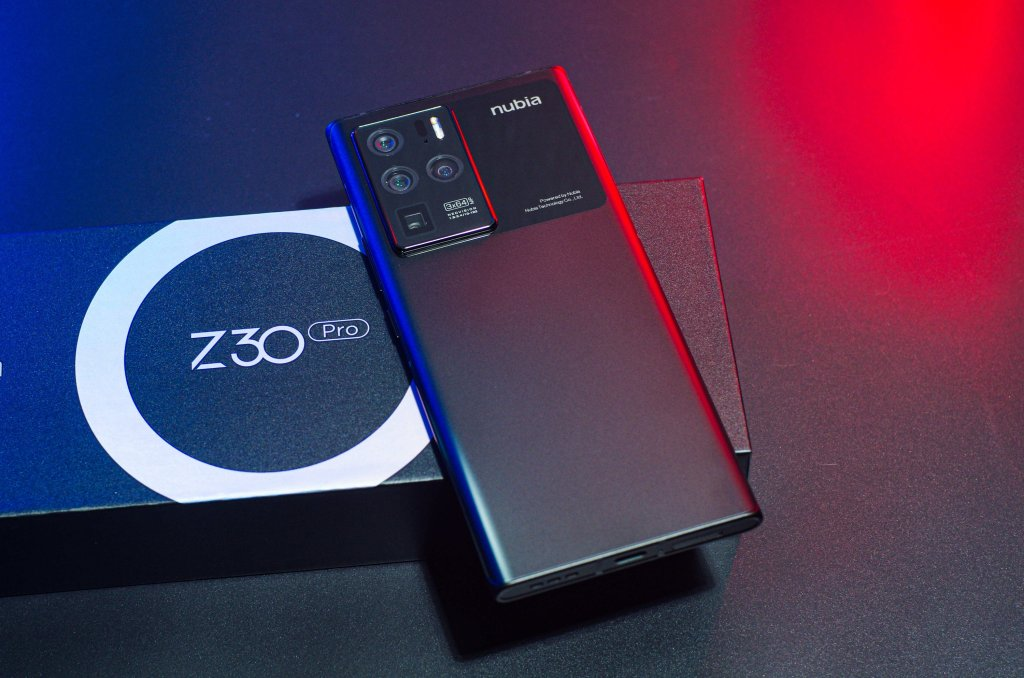 Nubia Z30 Pro back of the phone