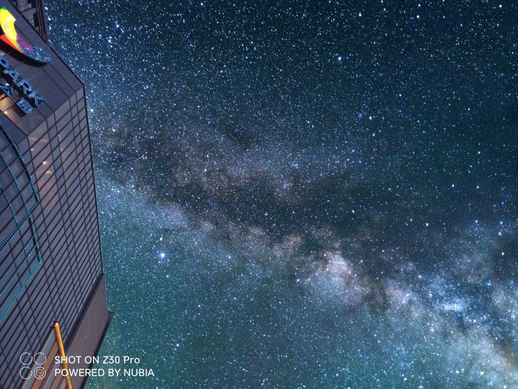 Starry sky second shot (eternal effect)