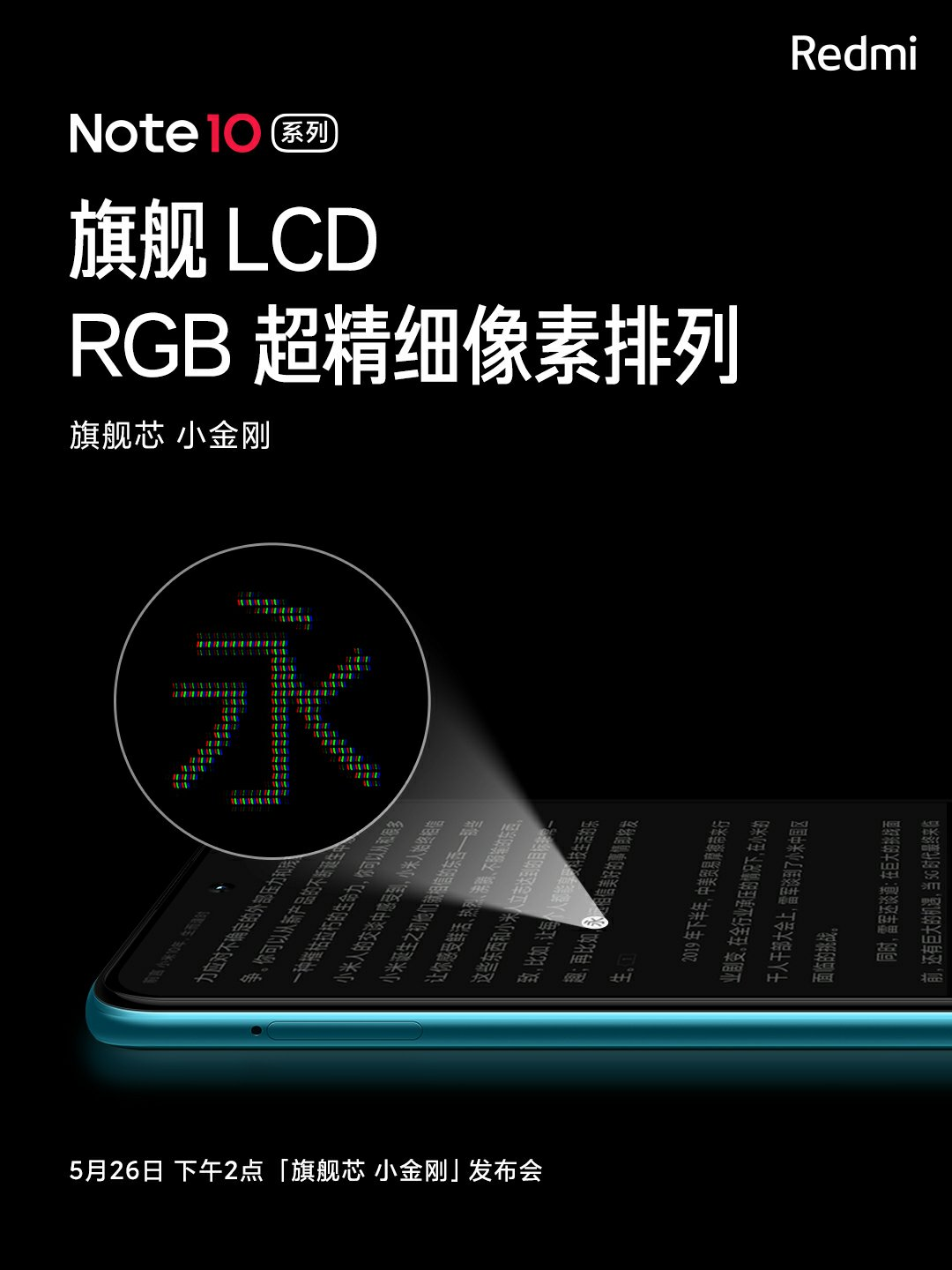 Redmi Note10 Series Display Features RGB