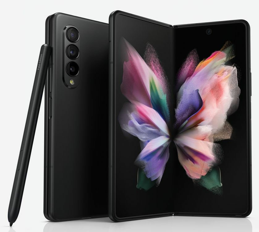 Samsung Galaxy Z Fold3 Official Renders