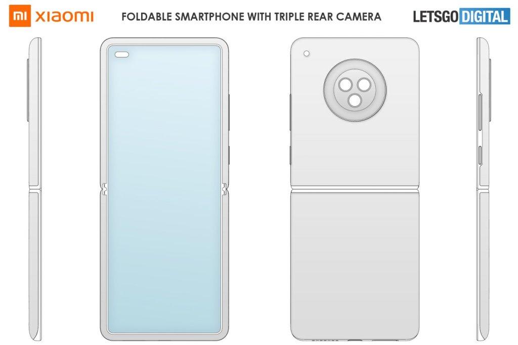 Xiaomi Flip Foldable Phone Design