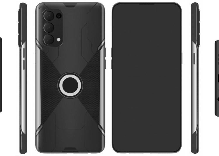 Oppo Gaming Phone Design Patent