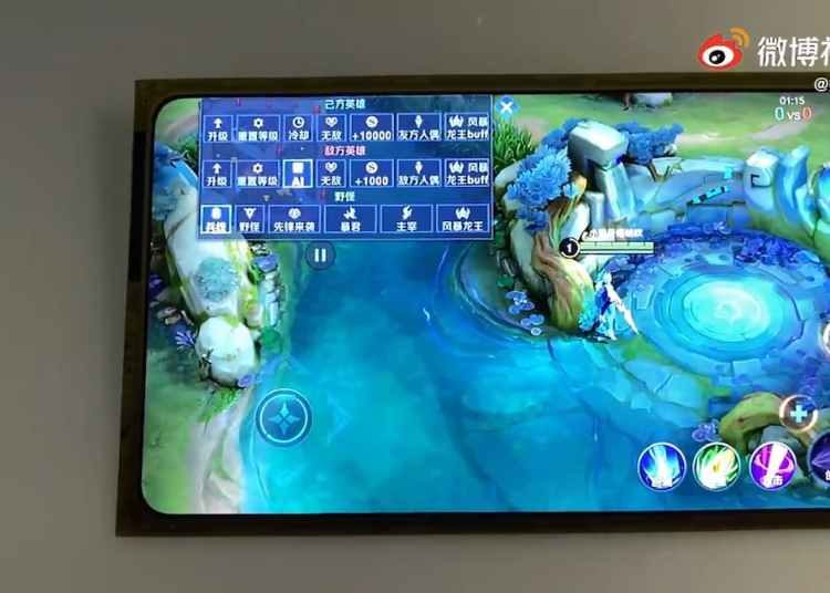 Xiaomi Mi MIX 4 Display Video