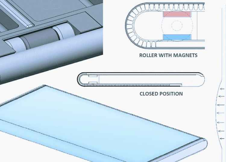 Huawei Mate X Rollable Patent