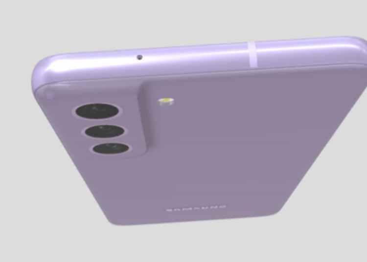 Samsung Galaxy S21 FE 3D Model