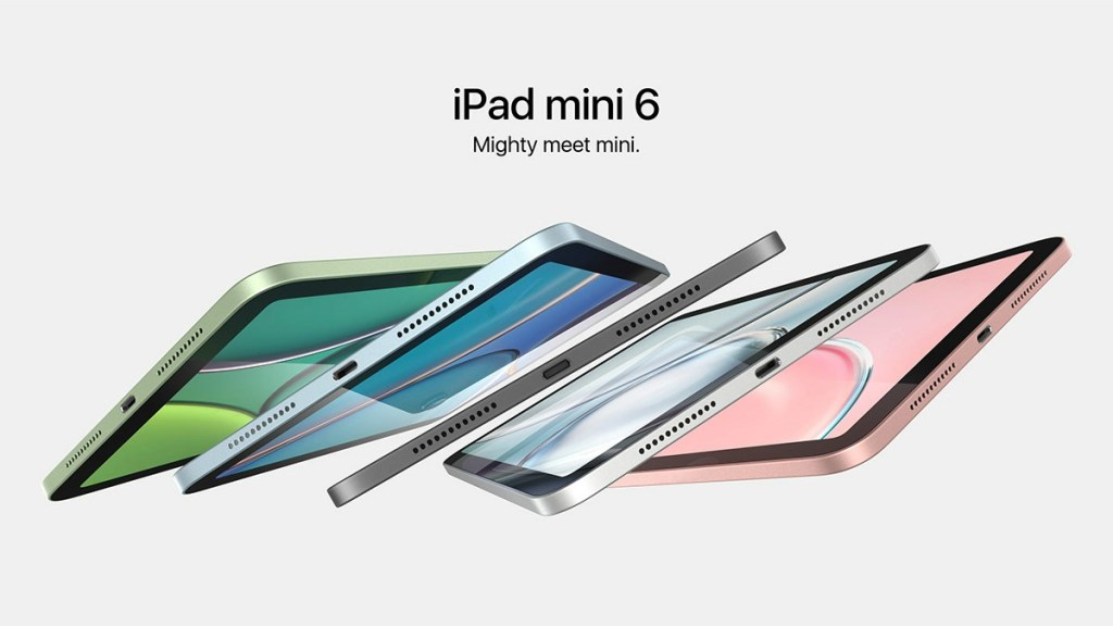 Concept iPad Mini 6 Renderings