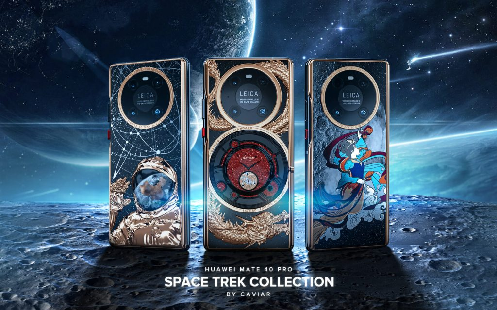 Caviar Decorated Huawei Mate 40 Pro Space Trek Collection