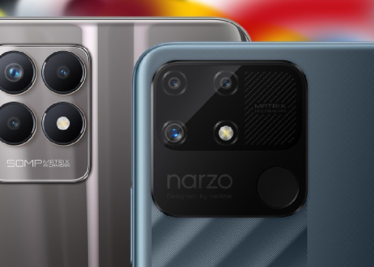 Realme 8i and Realme Nazro 50A Rendering Gives Official First Look