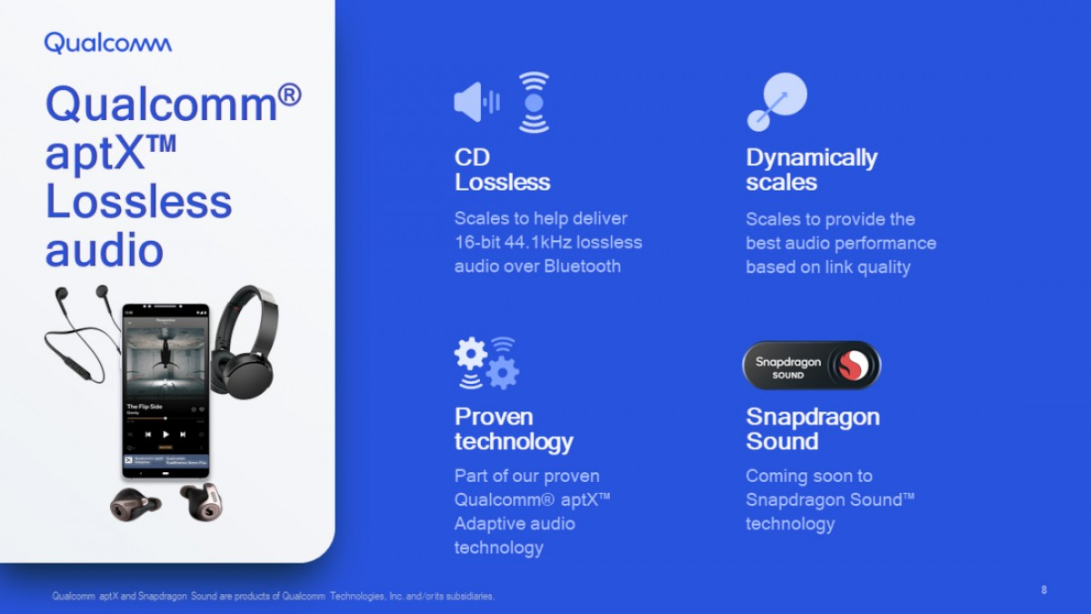 Qualcomm aptX Lossless Features & Specifications Unveiled
